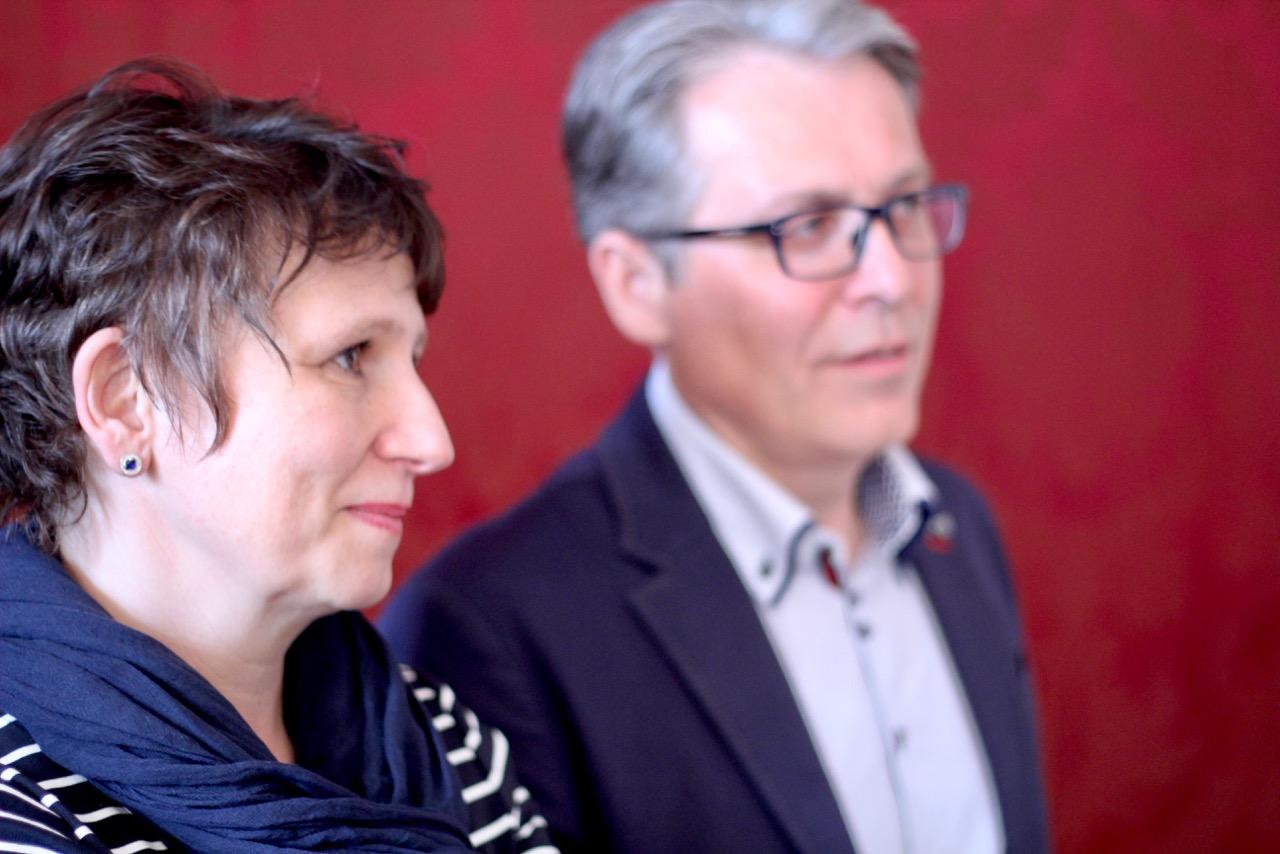 Petra und Leopold Hofbauer-Schmidt luden mit ihren Weinviertel-DAC-Reserven von 2015, 2013 und 2009 zu einer köstlichen Zeitreise.
