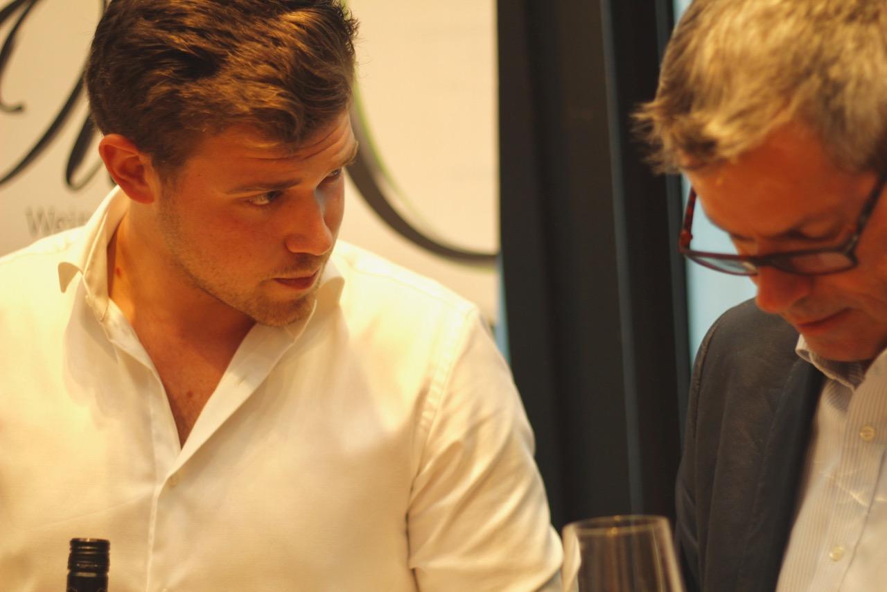 Andreas Ott aus Hagenbrunn beweist, dass man einen Top-Heurigen betreiben und zugleich tolle Wein machen kann.