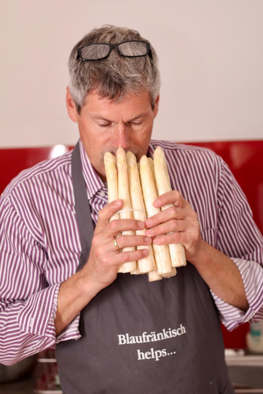 Risotto vom Lavanttaler Spargel –Wirtshaus Umadum – Wirtshausführer – Kochen wie der Wirt – Klaus Egle – Elisabeth Egle IMG_8755