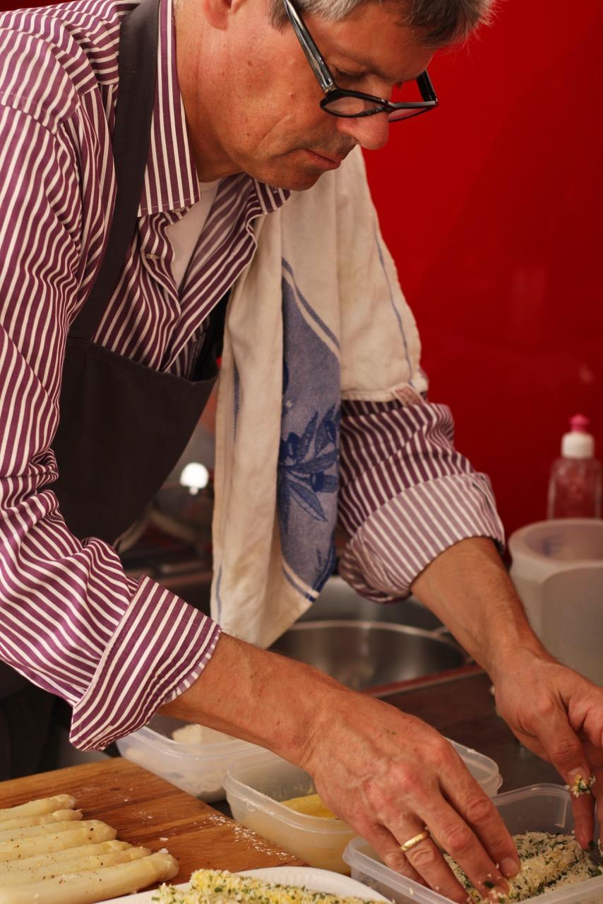 Risotto vom Lavanttaler Spargel –Wirtshaus Umadum – Wirtshausführer – Kochen wie der Wirt – Klaus Egle – Elisabeth Egle IMG_8814
