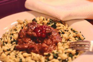 Kochen wie der Wirt: Reh von der Schokoladenseite