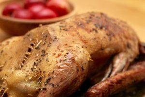 Kochen wie der Wirt: Gänsebraten – ganz entspannt