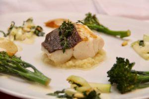 Kochen wie der Wirt: Skrei trifft Kohlrabi
