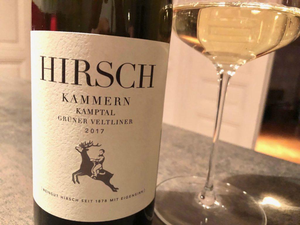 Wirtshausführer, Wein der Woche, Wein mit Egle, Grüner Veltliner Kamptal 2017, Weingut Hannes Hirsch