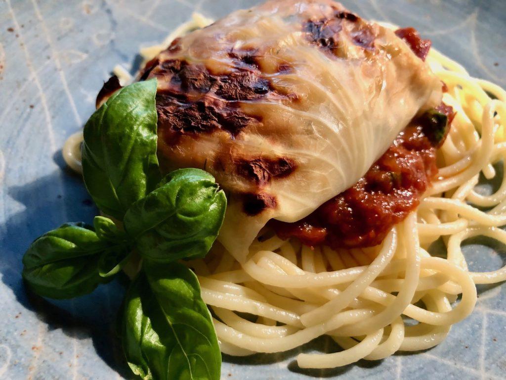 Kochen wie der Wirt: Krautroulade vom Waldviertler Karpfen