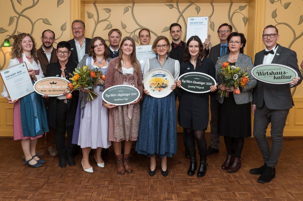 Niederösterreichische Top-Wirte 2020 gekürt