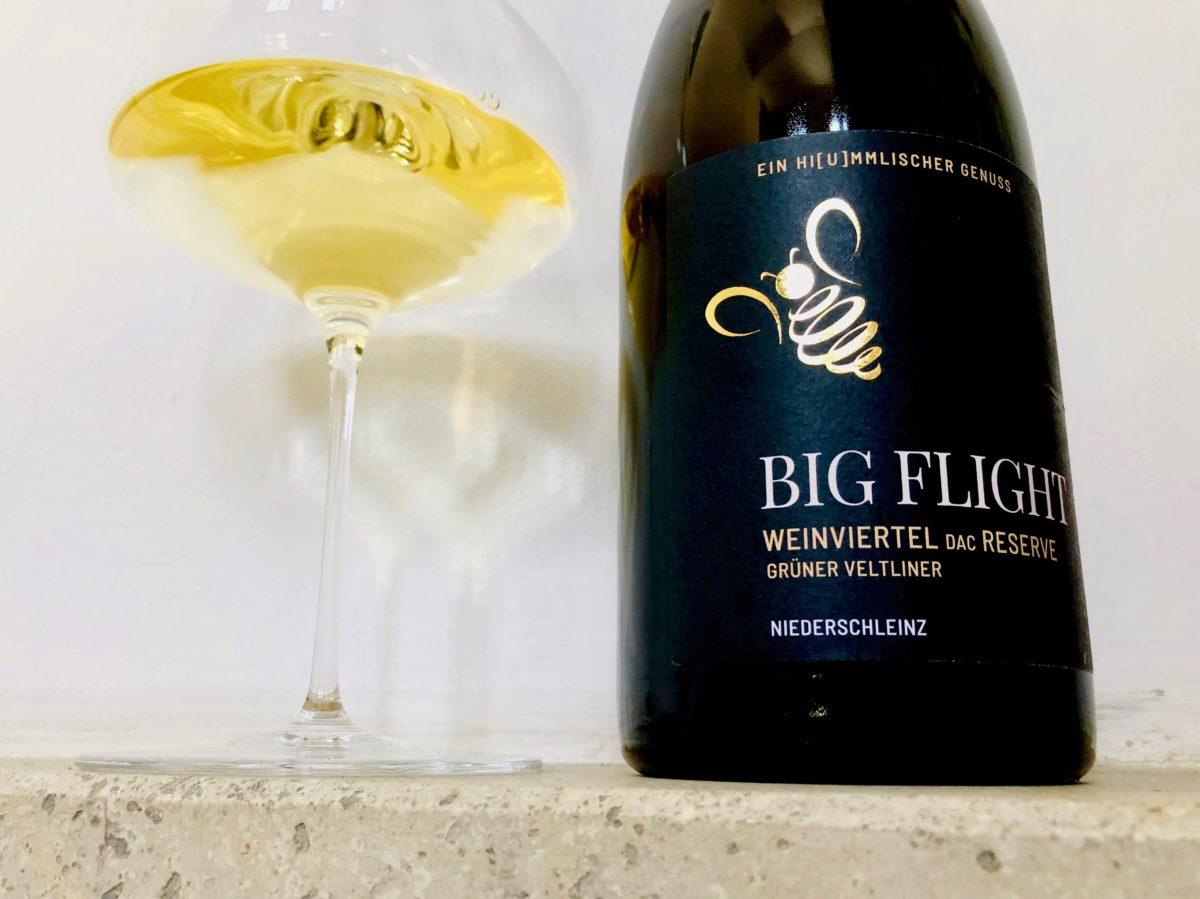 Klaus Egles Wein der Woche Grüner Veltliner 2017 Big Flight Weingut Kurt & Beatrix Hummel