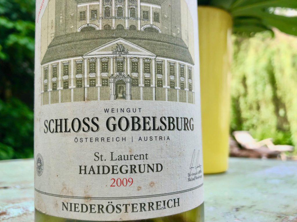 Klaus Egles Wein der Woche: St. Laurent Haidegrund 2009 Schloss Gobelsburg
