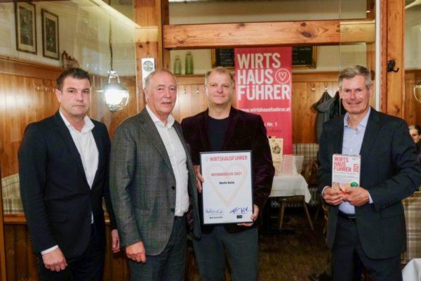 Wirtshausführer Weinmensch 2021: Martin Kušej, unterstützt von Zalto Glas