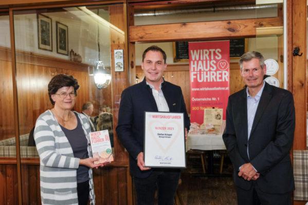 Wirtshausführer Winzer 2021: Stefan Krispel von Weingut Krispel