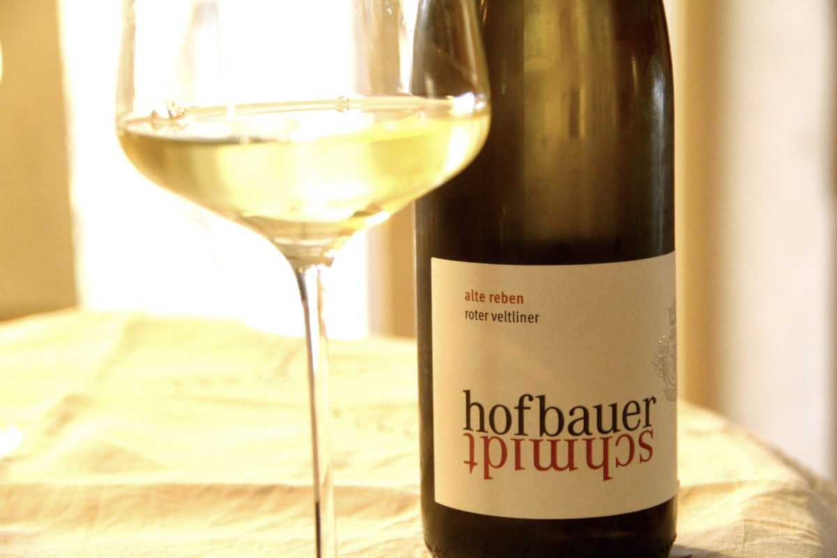 Klaus Egles Wein-Empfehlung der Woche: Roter Veltliner Alte Reben 2019 vom Weingut Hofbauer-Schmidt