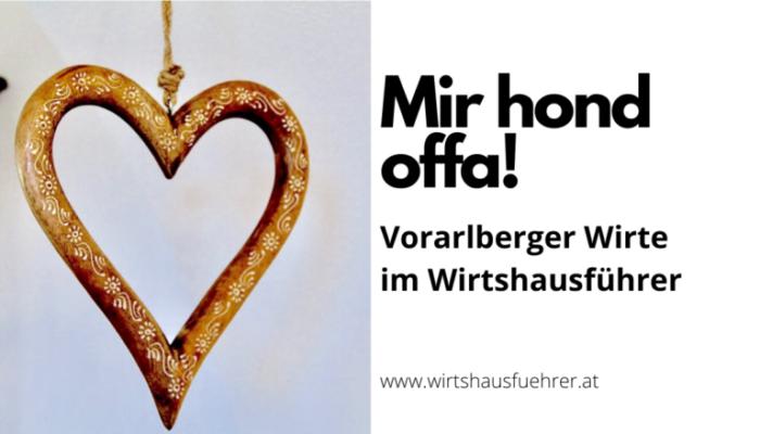 Diese Vorarlberger Lokale sind wieder für Sie geöffnet!