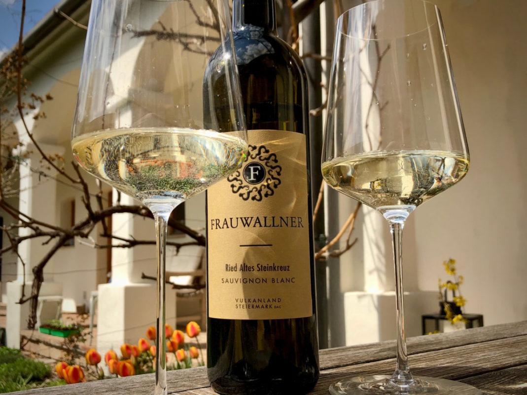 Klaus Egles Wein der Woche: Sauvignon Blanc Ried Altes Steinkreuz 2020, Frauwallner