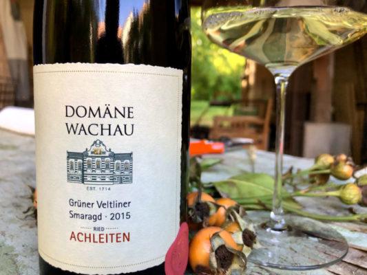 """Klaus Egles Wein der Woche: Grüner Veltliner Smaragd 2015, Ried Achleiten """"Late Release"""", Domäne Wachau"""